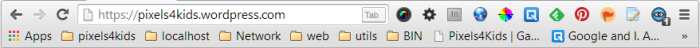 Chrome address bar
