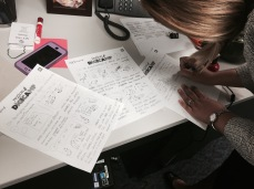 Last notes on the storyboard.